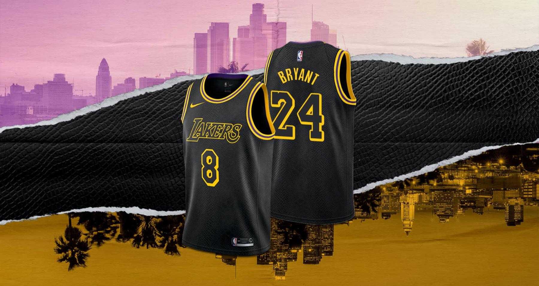 Kobe Bryant Black Mamba Jersey