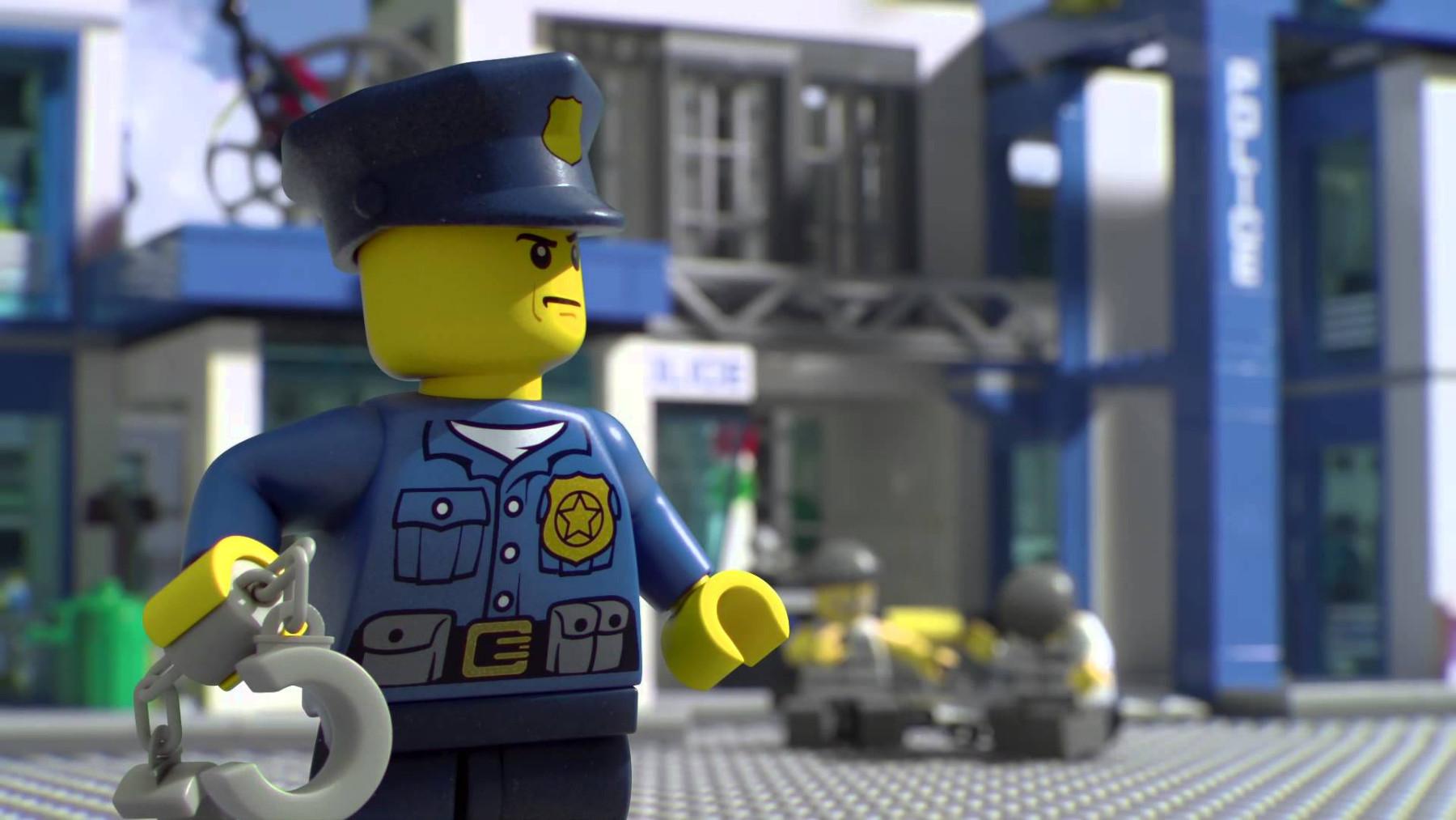 LEGO polizia
