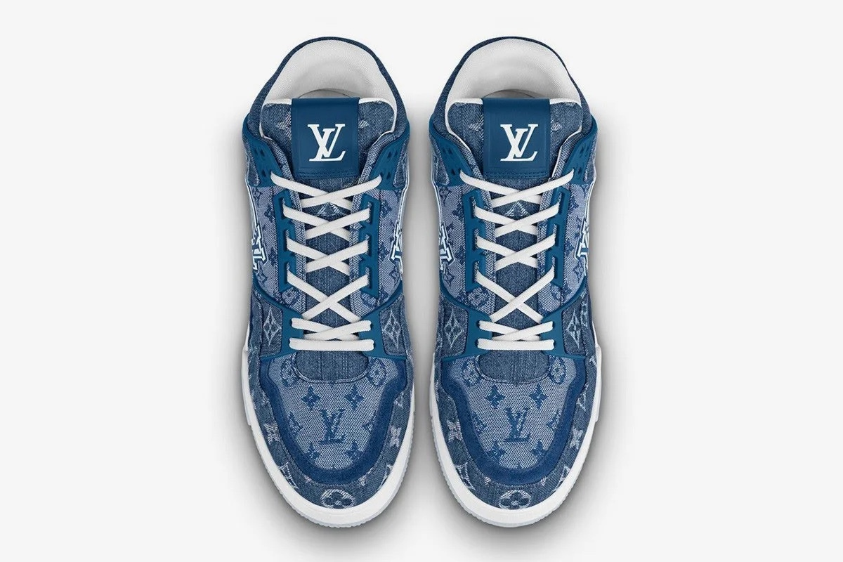Louis Vuitton LV Trainer Denim sneakers