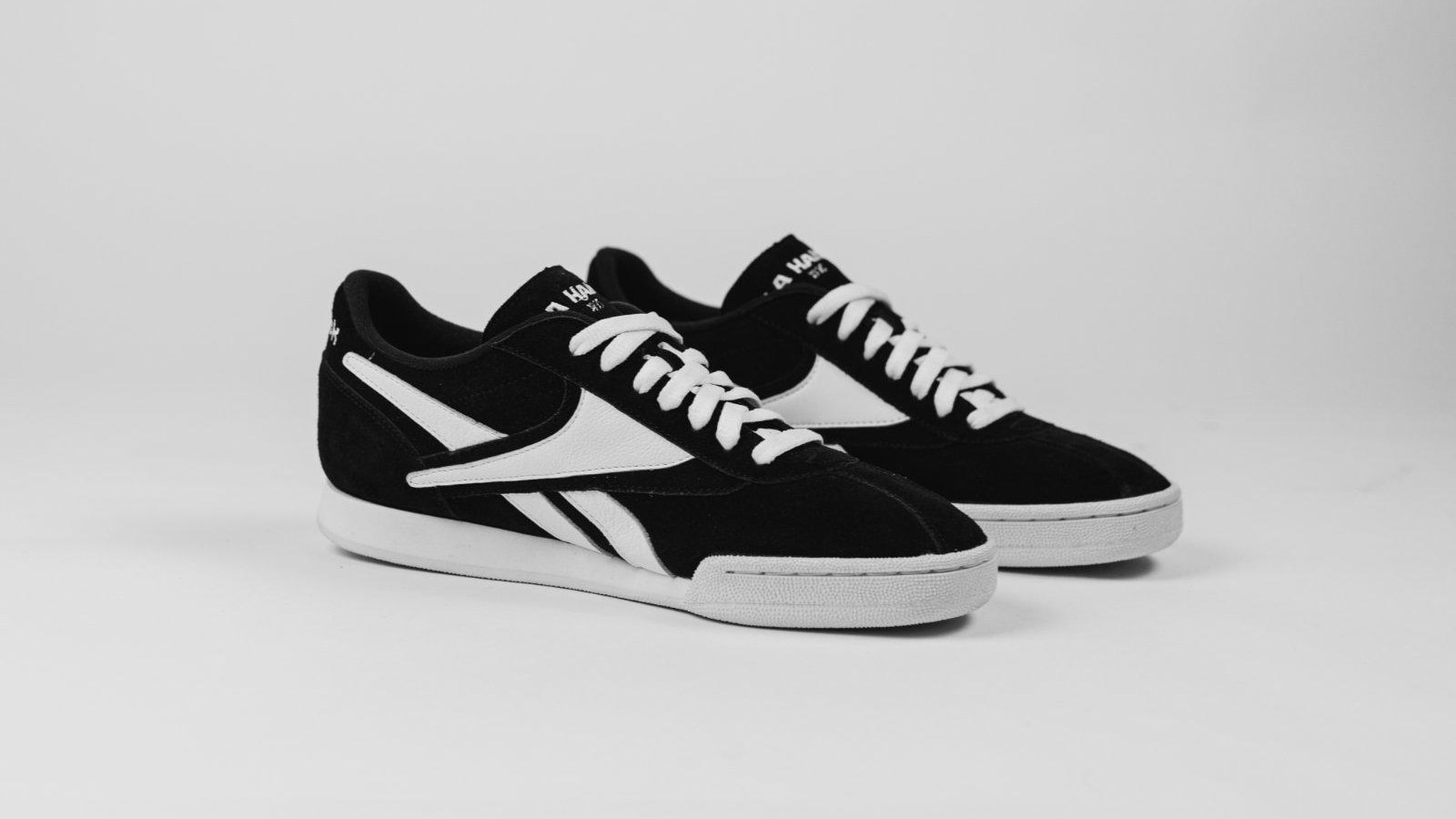 La Haine x Reebok NL Paris black and white