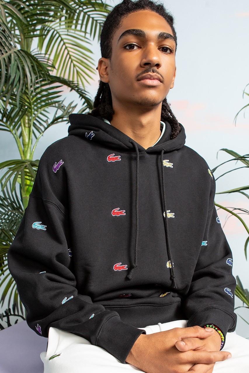 Lacoste x Chinatown Market hoodie
