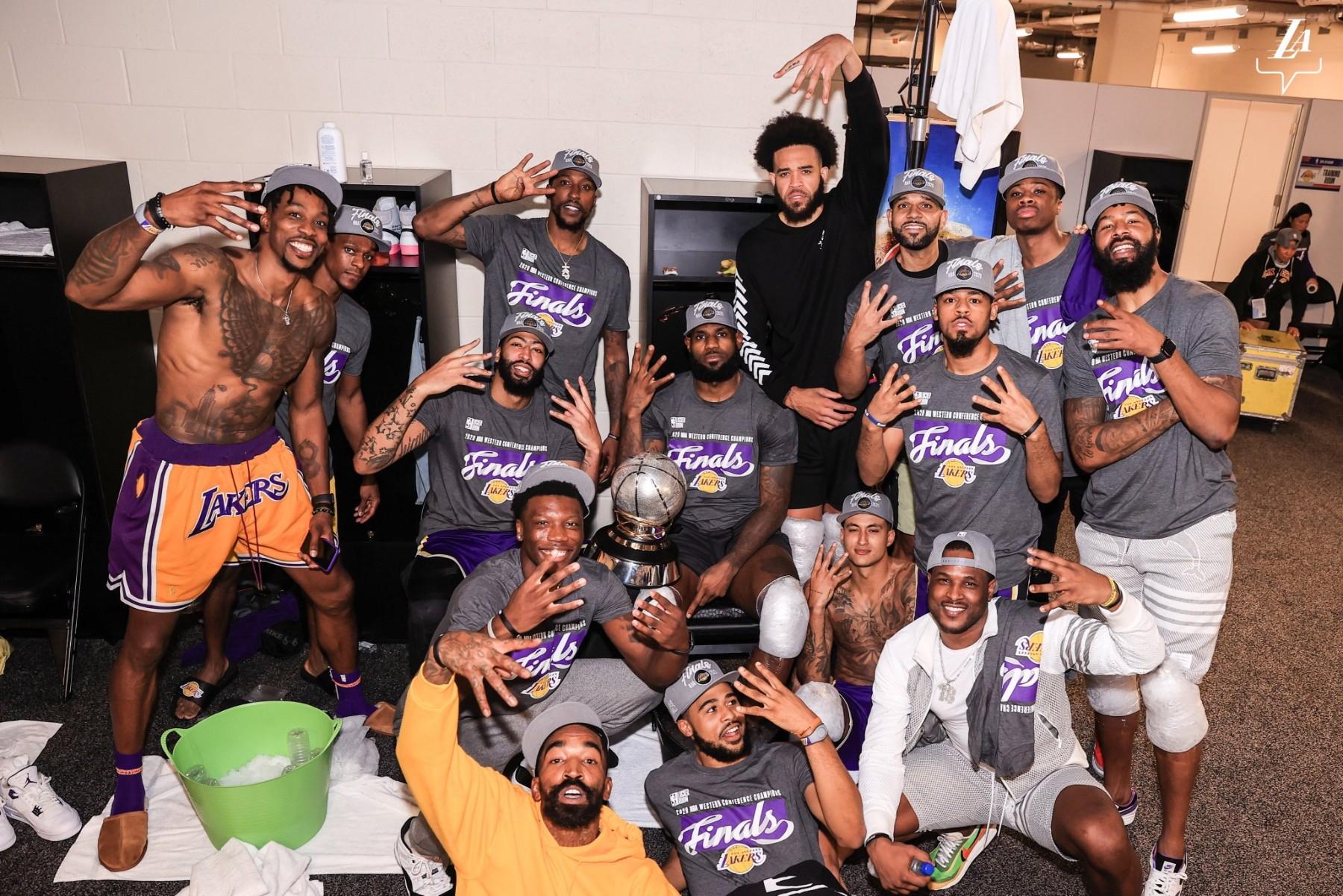 Lakers NBA Finals 2020