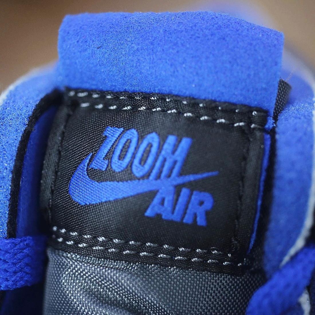League of Legends x Air Jordan 1 High Zoom Comfort linguetta