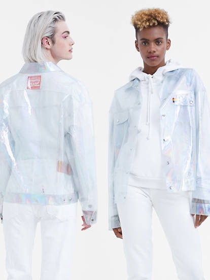 Levis Transparent Trucker Jacket