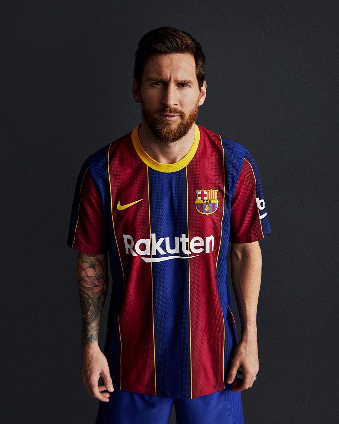 Lionel Messi maglia Barcellona 2020 2021