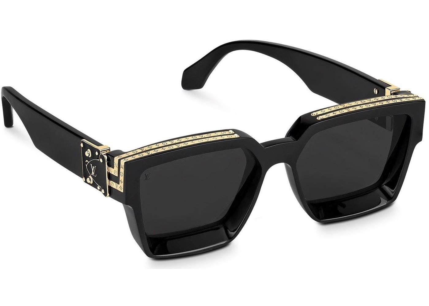 Louis Vuitton 1.1 Millionaires Sunglasses Black