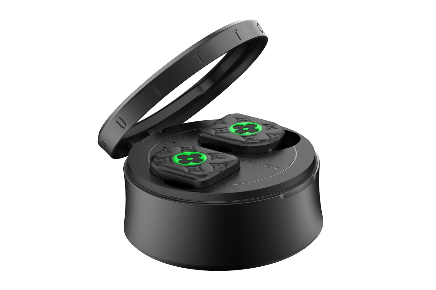 Louis Vuitton Earphones Neon Green