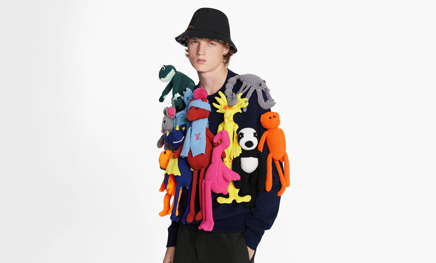 Louis Vuitton crewneck con animaletti
