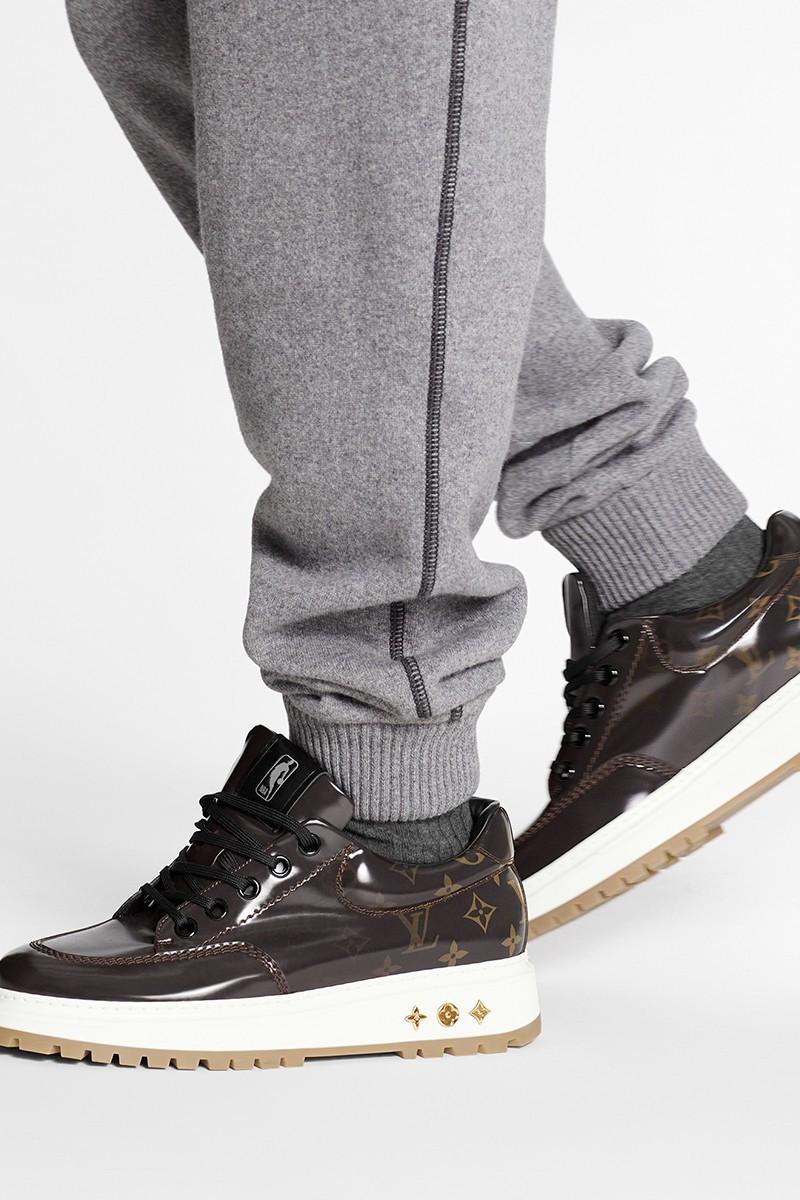 Louis Vuitton NBA sneakers monogram lucide