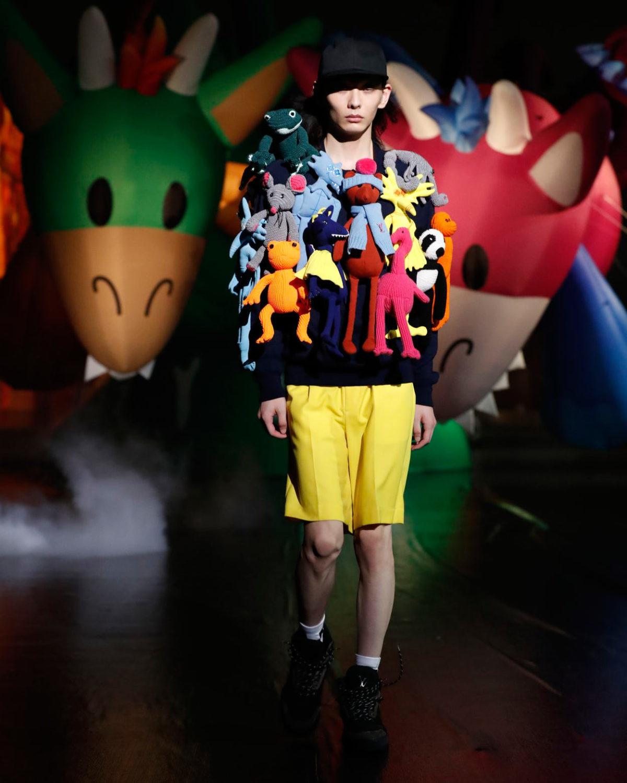 Louis Vuitton SS21 tokyo runway show