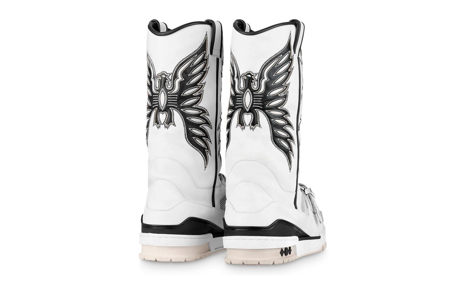 Louis Vuitton Trainer Sneaker Boot western
