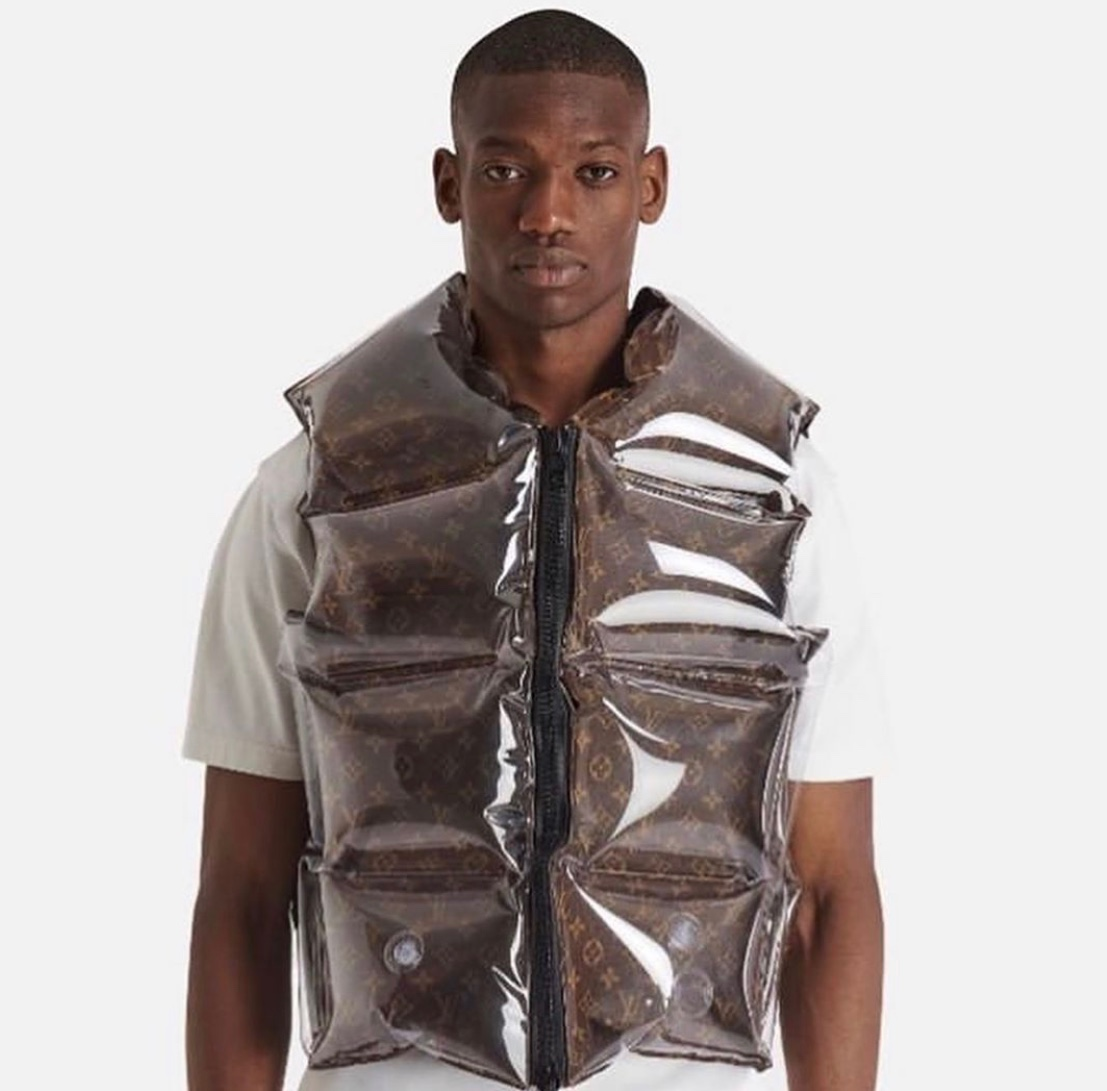 Louis Vuitton inflatable jacket