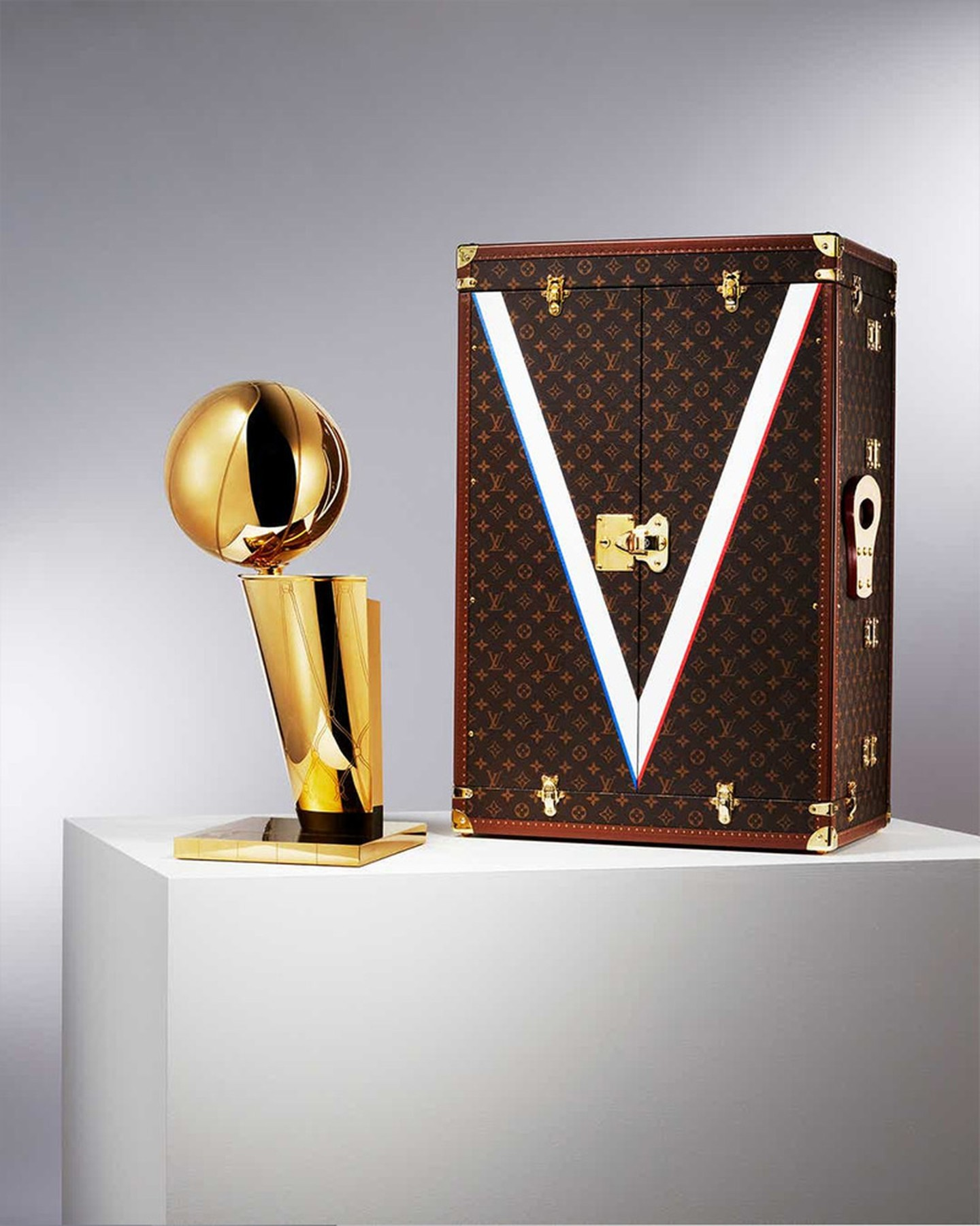 "Louis Vuitton x NBA Trophy ""Larry O'Brien"""