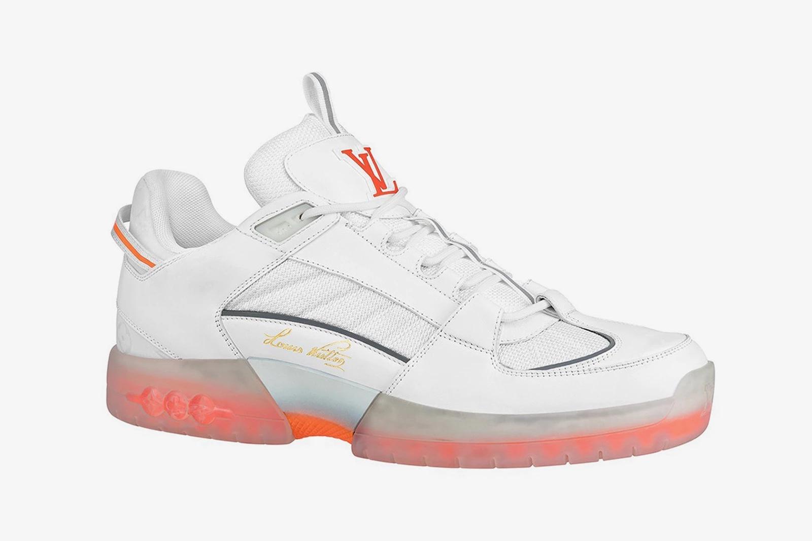 Lucien Clarke x Louis Vuitton sneakers white