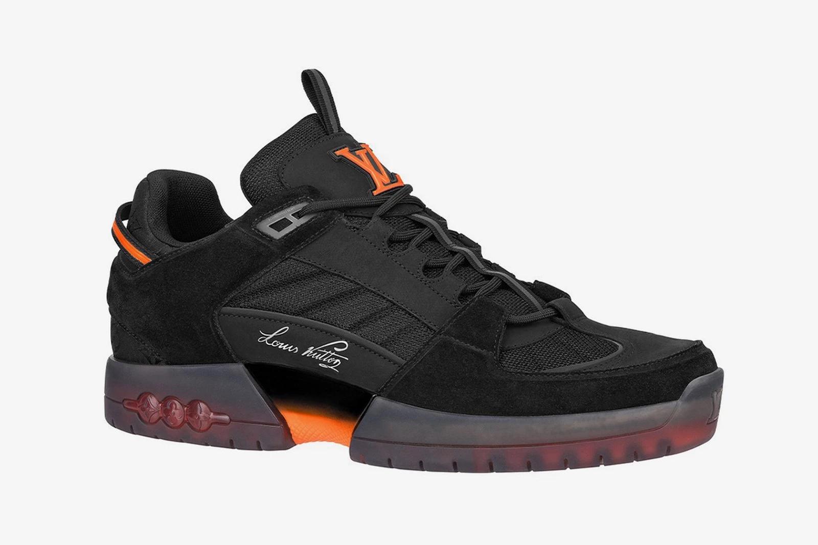 Lucien Clarke x Louis Vuitton sneakers black