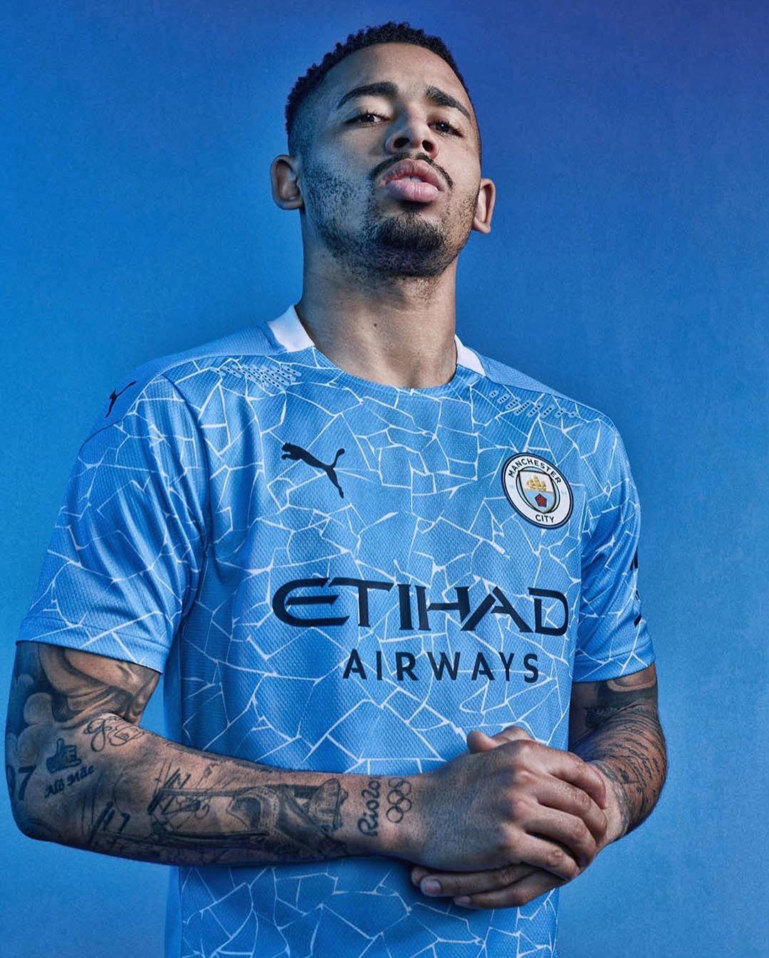Manchester City maglia nuova stagione 2021 2021