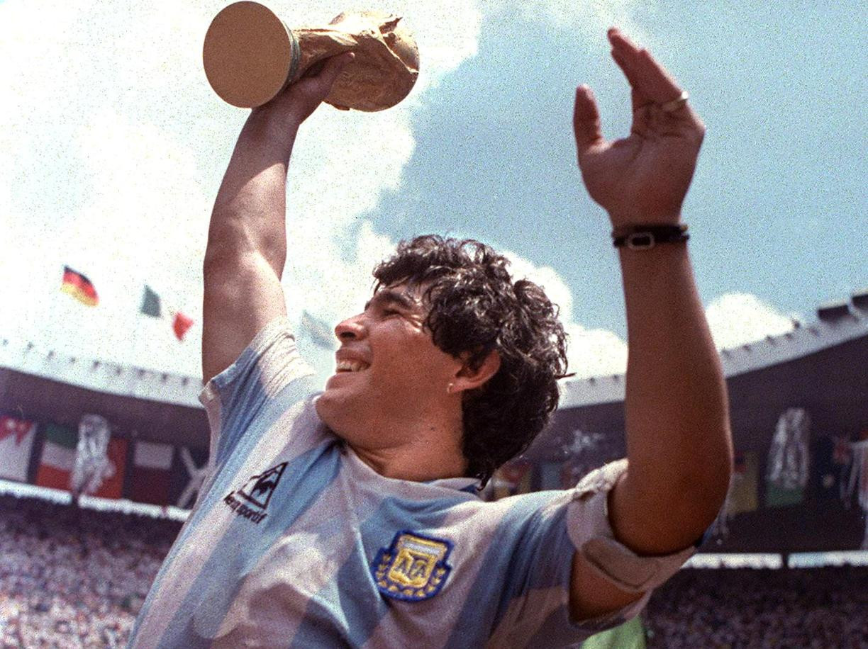 Maradona Argentina coppa del mondo