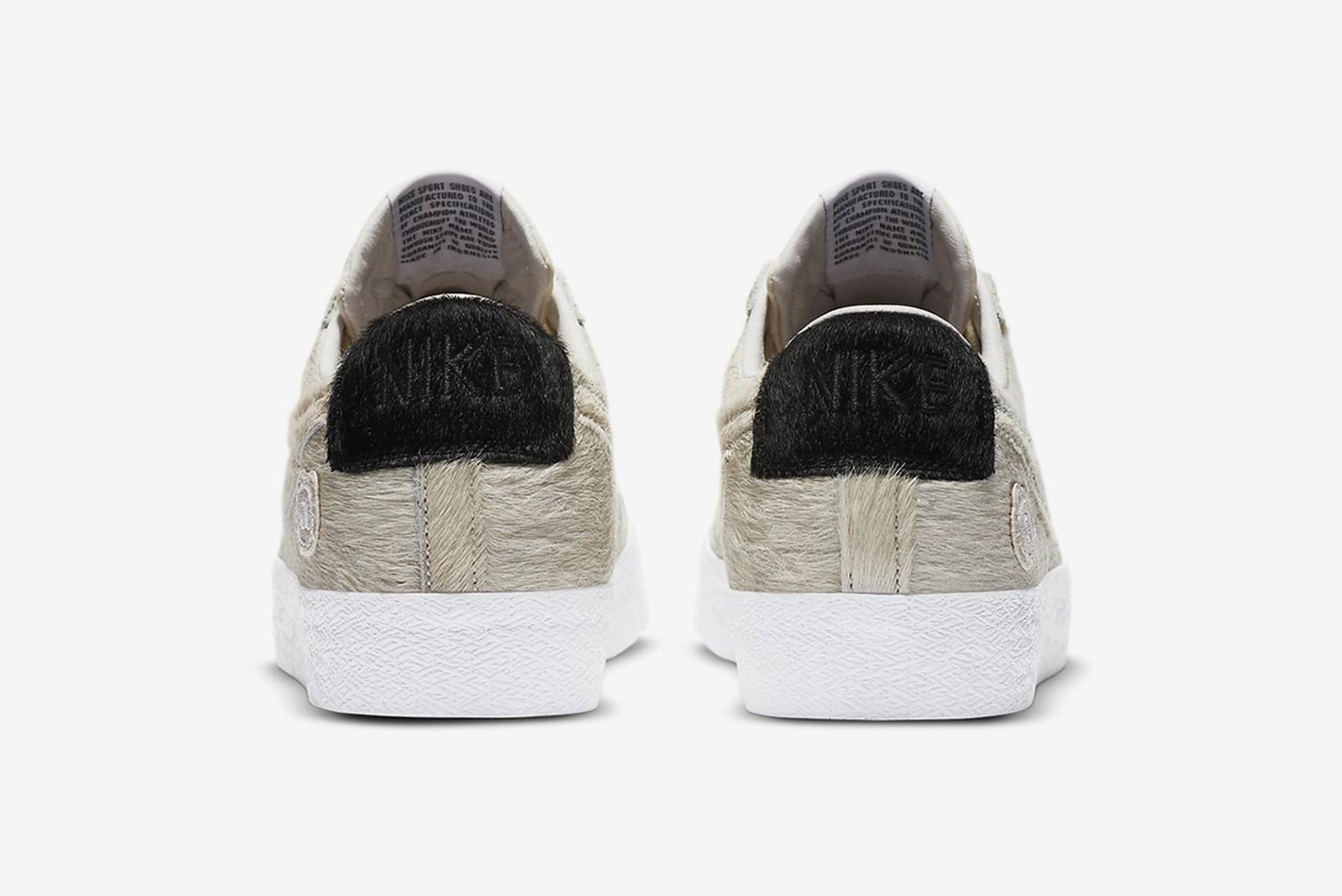 Medicom Toy x Nike SB Blazer Low BE@RBRICK cream