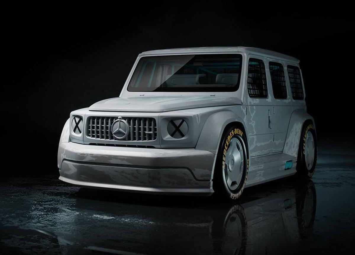 Mercedes Benz x Virgil Abloh Classe G