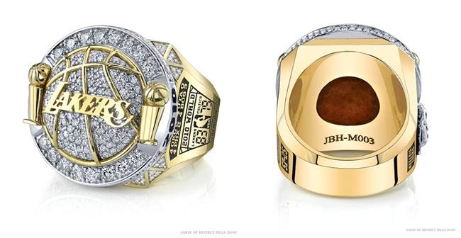 Metta World Peaces 2010 NBA Championship Ring