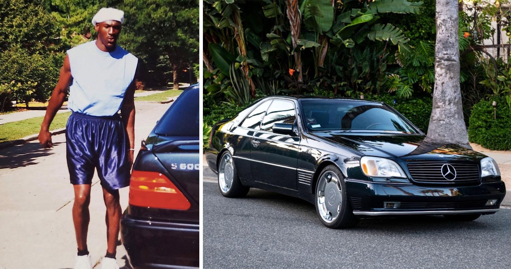 Michael Jordan Mercedes-Benz S 600