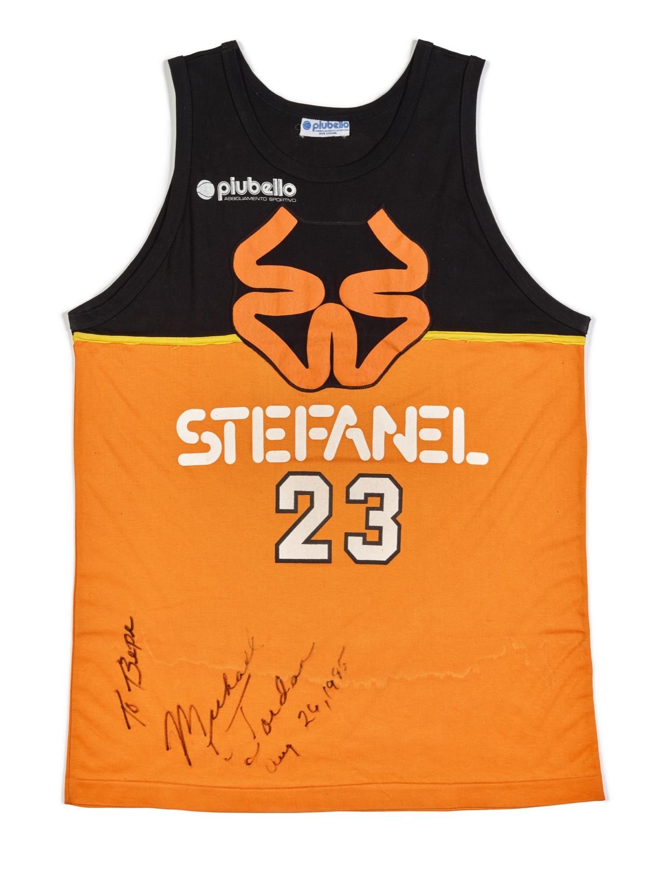 Michael Jordan Stefanel Trieste