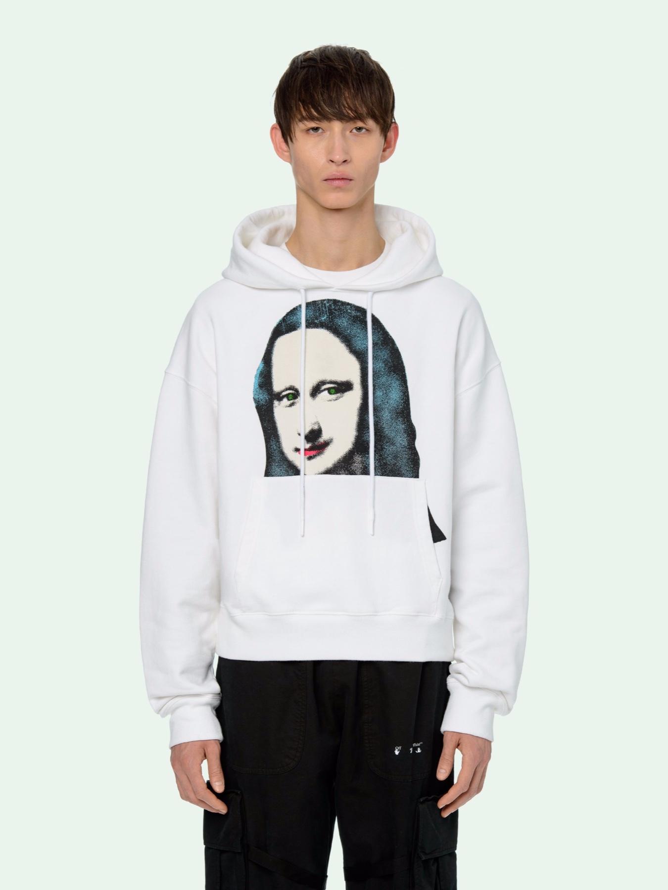 Off White Pivot Collection Mona Lisa Hoodie