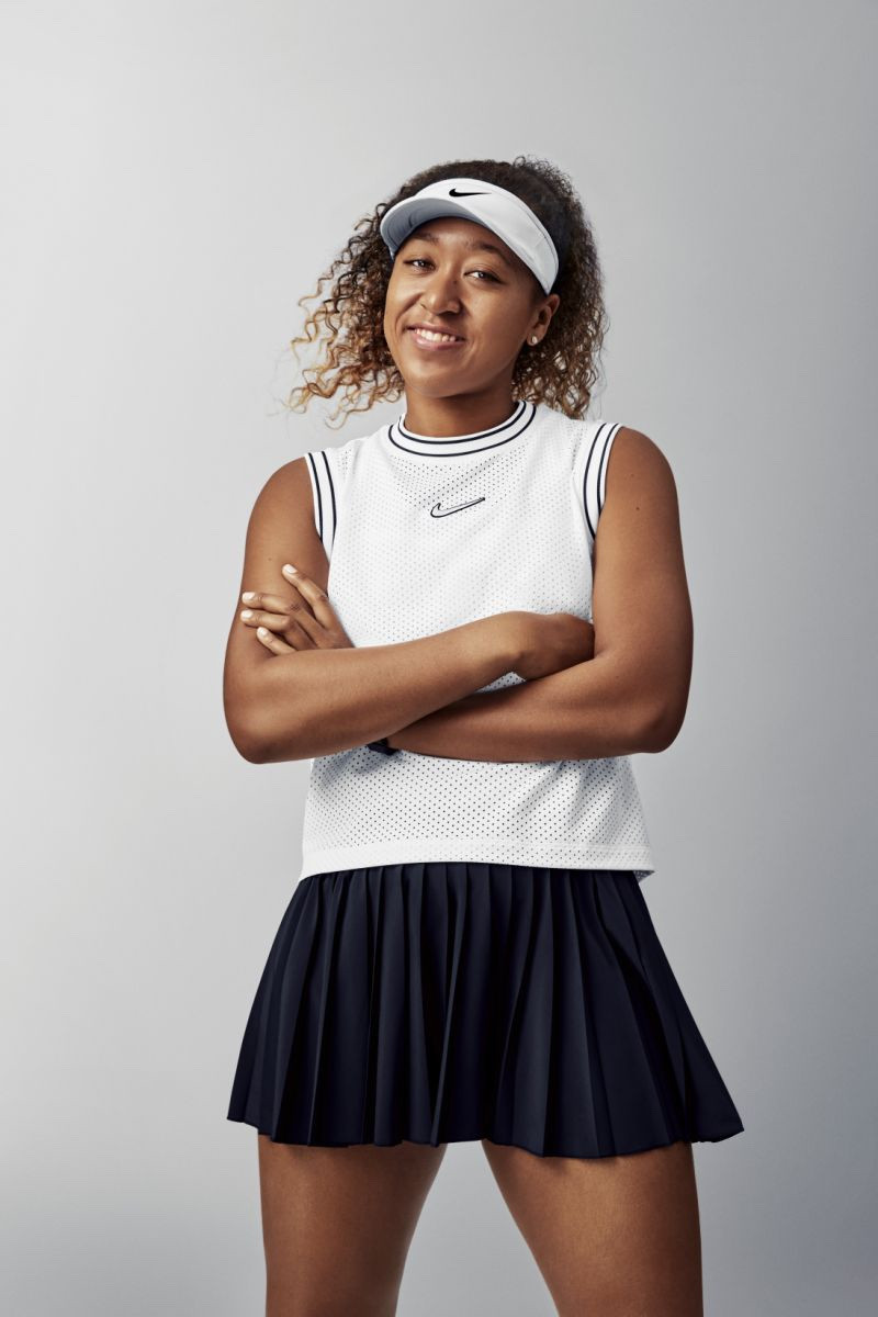 Naomi Osaka veste Nike
