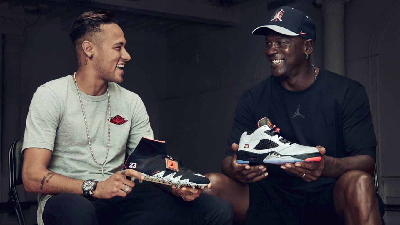 Neymar Michael Jordan Nike