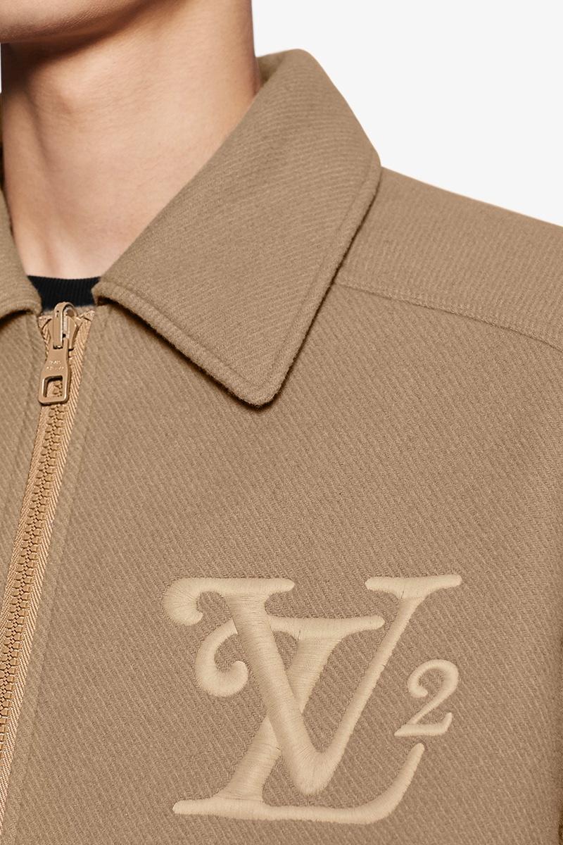 Louis Vuitton x Nigo LV2 Giacca aviatore beige monogram LV
