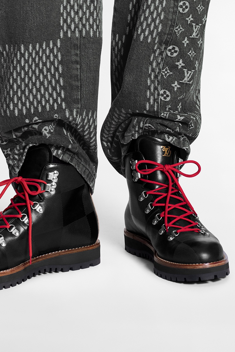 Boots Louis Vuitton e Nigo