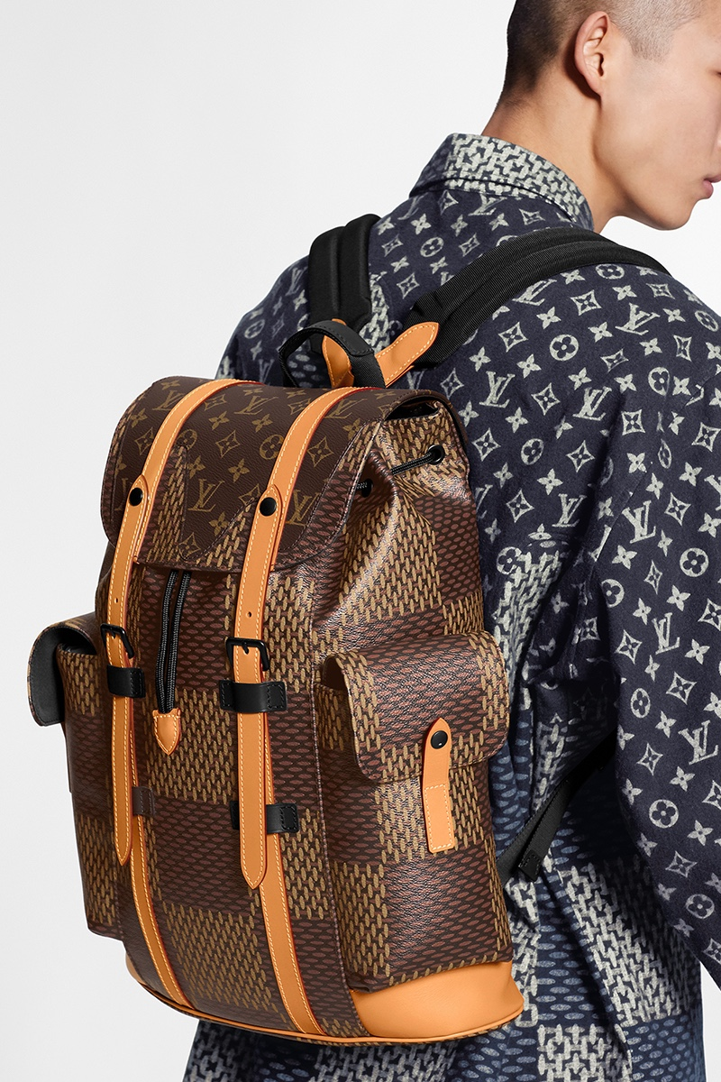 Zaino Louis Vuitton e Nigo