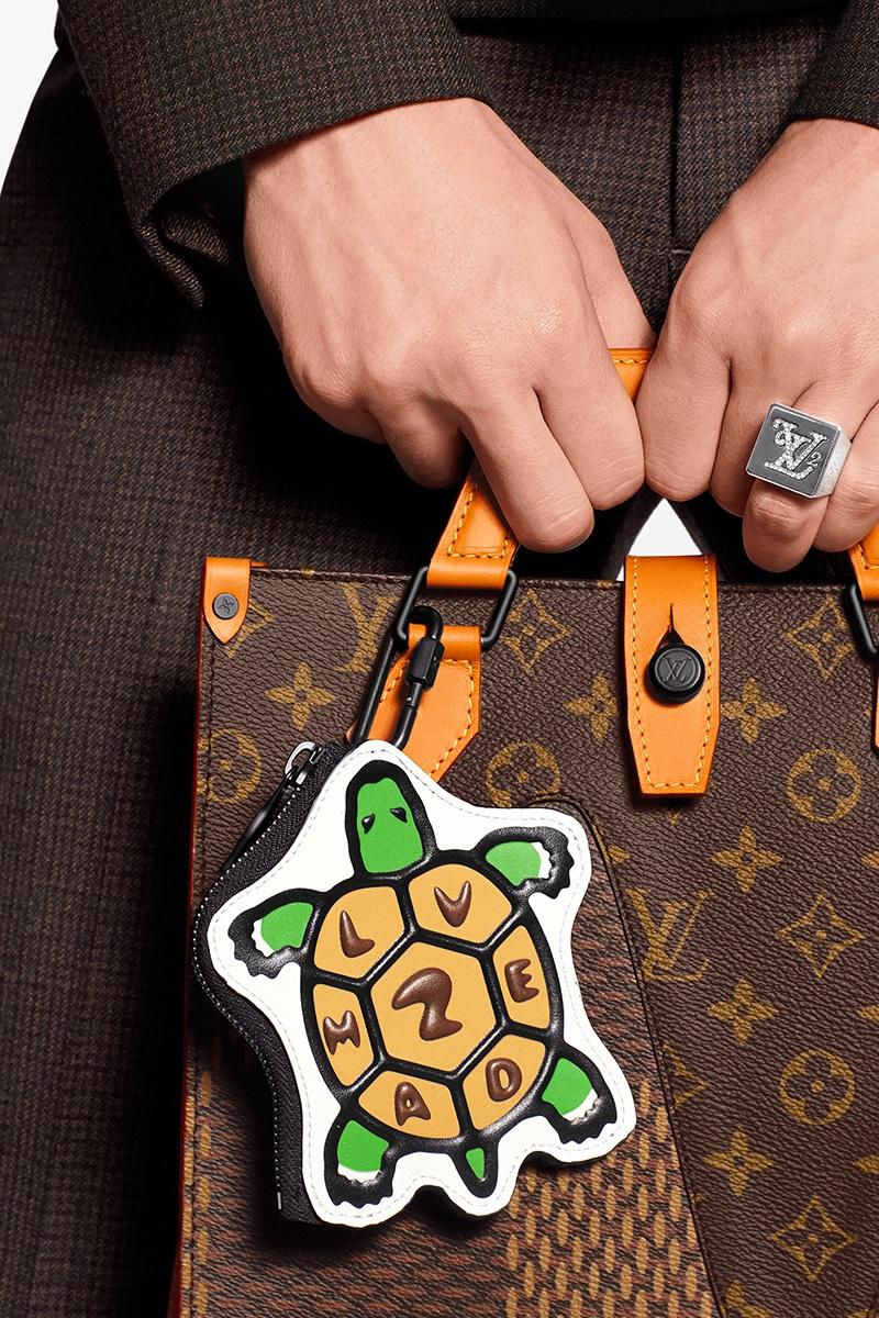 Portachiavi Louis Vuitton e Nigo