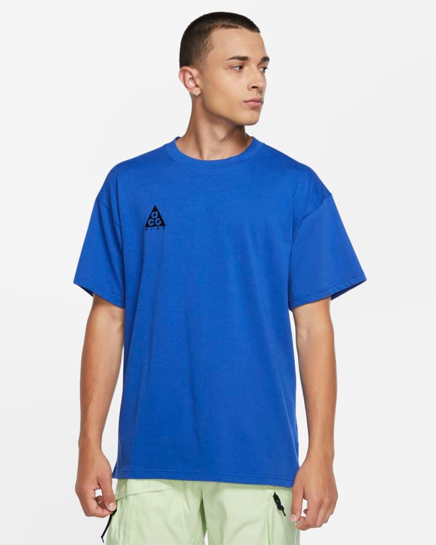Nike ACG T-shirt blue