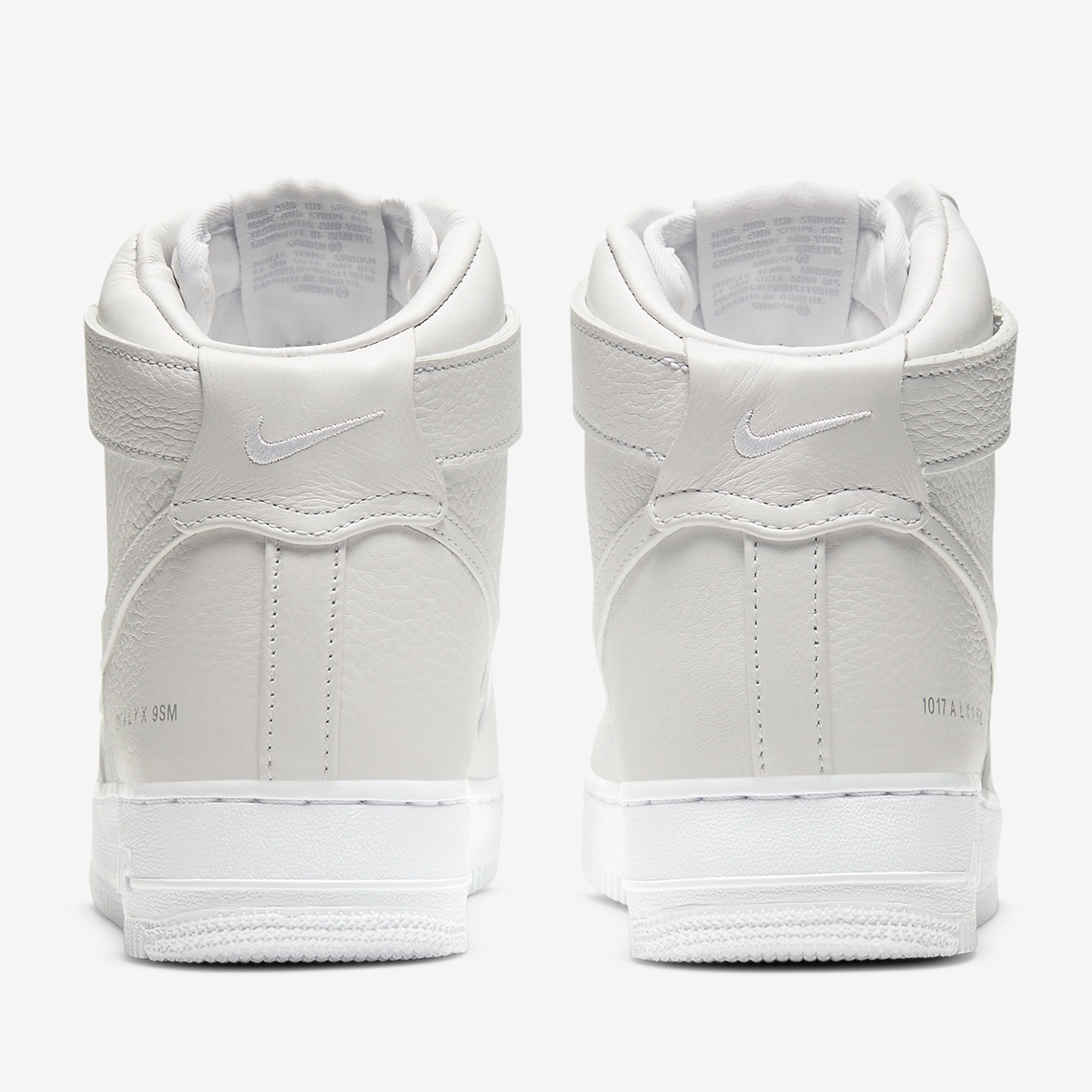 Air Force 1 High x 1017 ALYX 9SM White