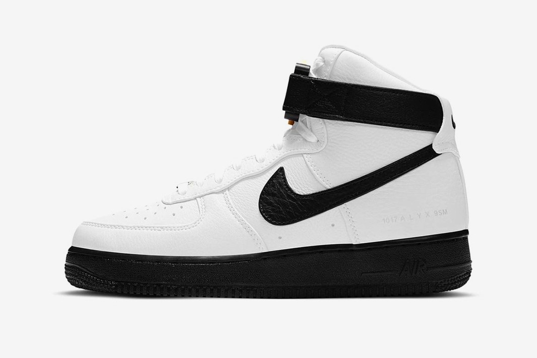 Air Force 1 High x 1017 ALYX 9SM Black and White