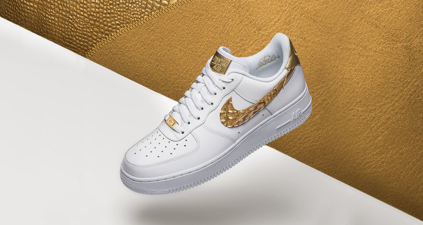 Nike Air Force 1 Low Golden Patchwork
