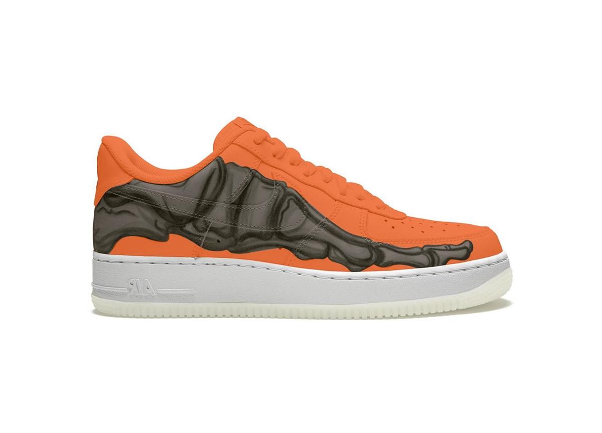 """Nike Air Force 1 Skeleton """"Orange"""""""
