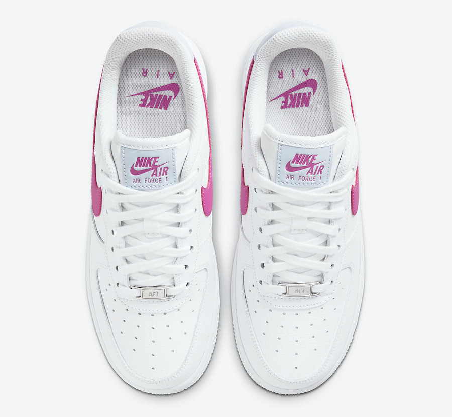 air force 1 nere e rosa