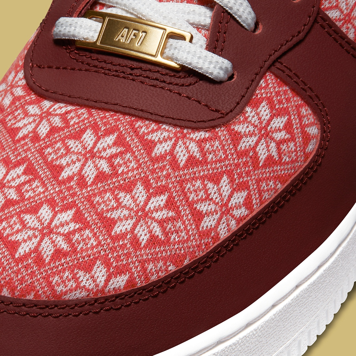 """Nike Air Force 1 """"Ugly Sweater"""""""