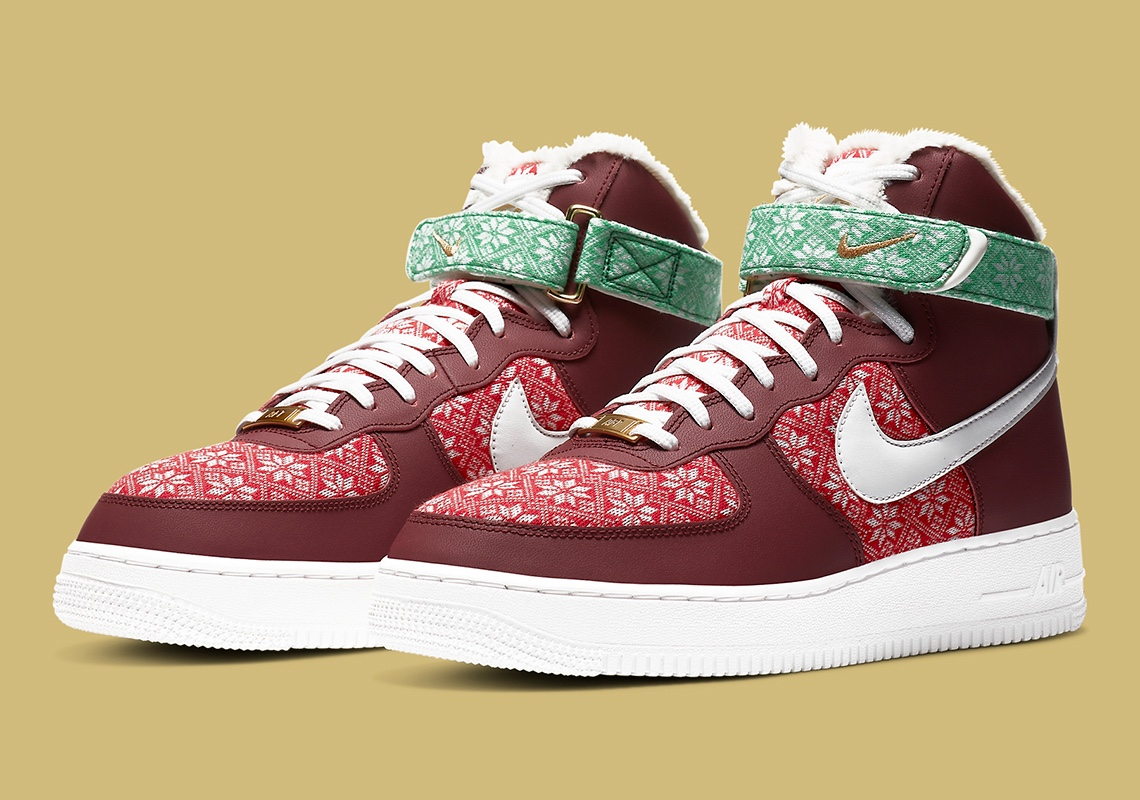 "Nike Air Force 1 ""Ugly Sweater"""