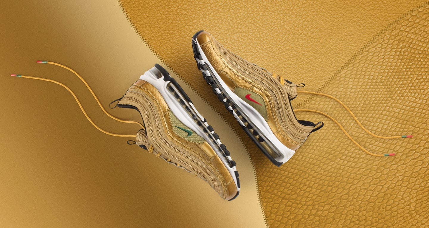 Nike Air Max 97 Golden Patchwork