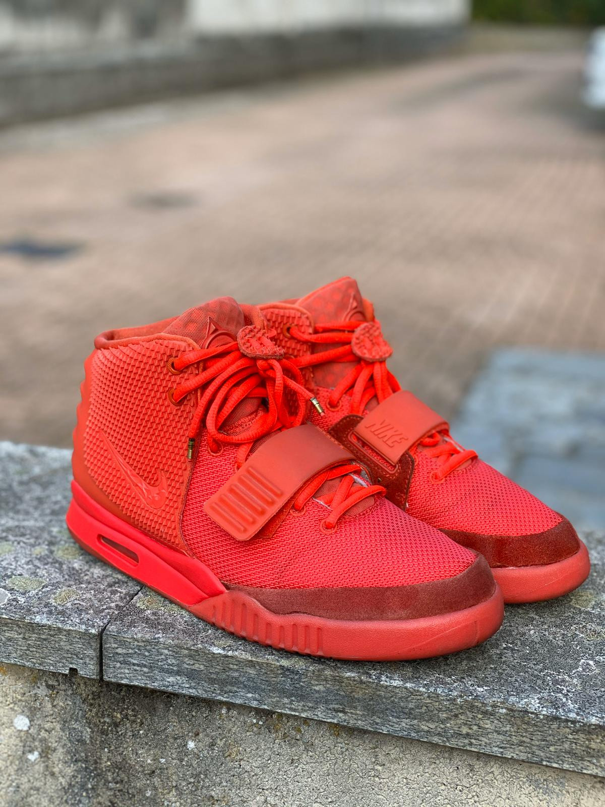 Nike Air Yeezy Red October