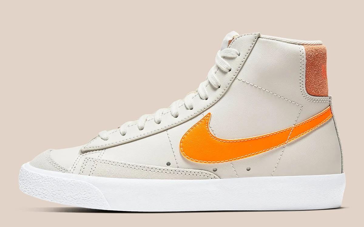 "Nike Blazer Mid 77 ""Orange Trance"" Off-White"