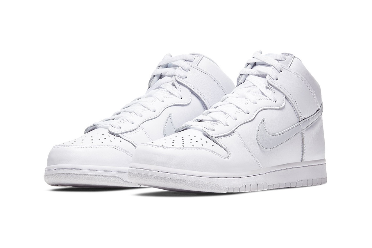 Nike Dunk High Pure Platinum