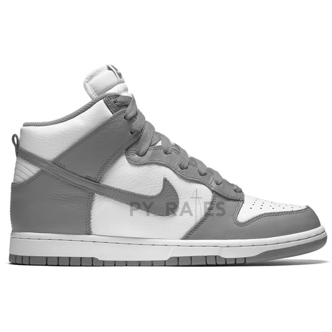 Nike Dunk High White Light Grey