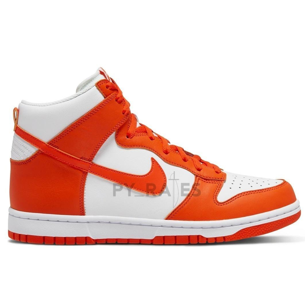 Nike Dunk High White Orange