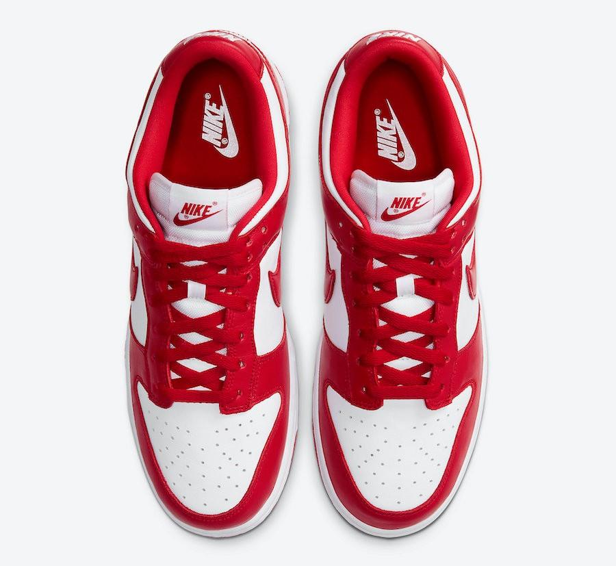 Prezzo Nike Dunk Low University Red