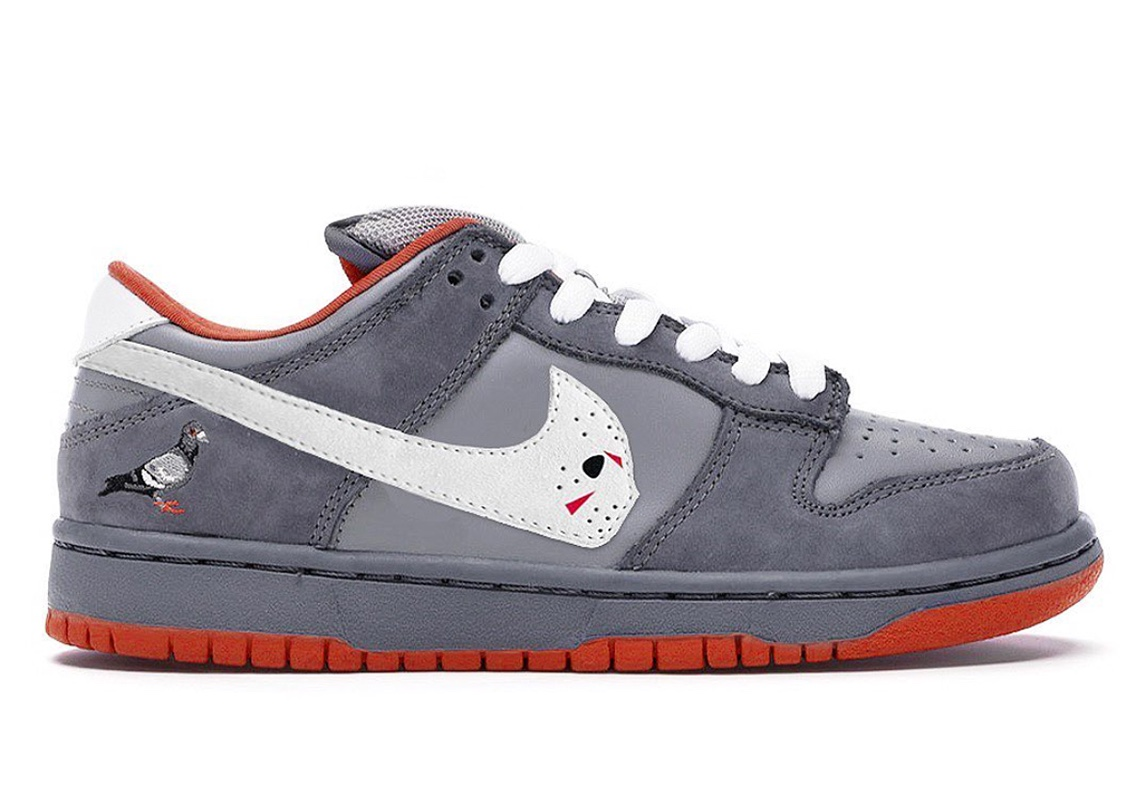 Nike SB Dunk Low PIgeon Warren Lotas
