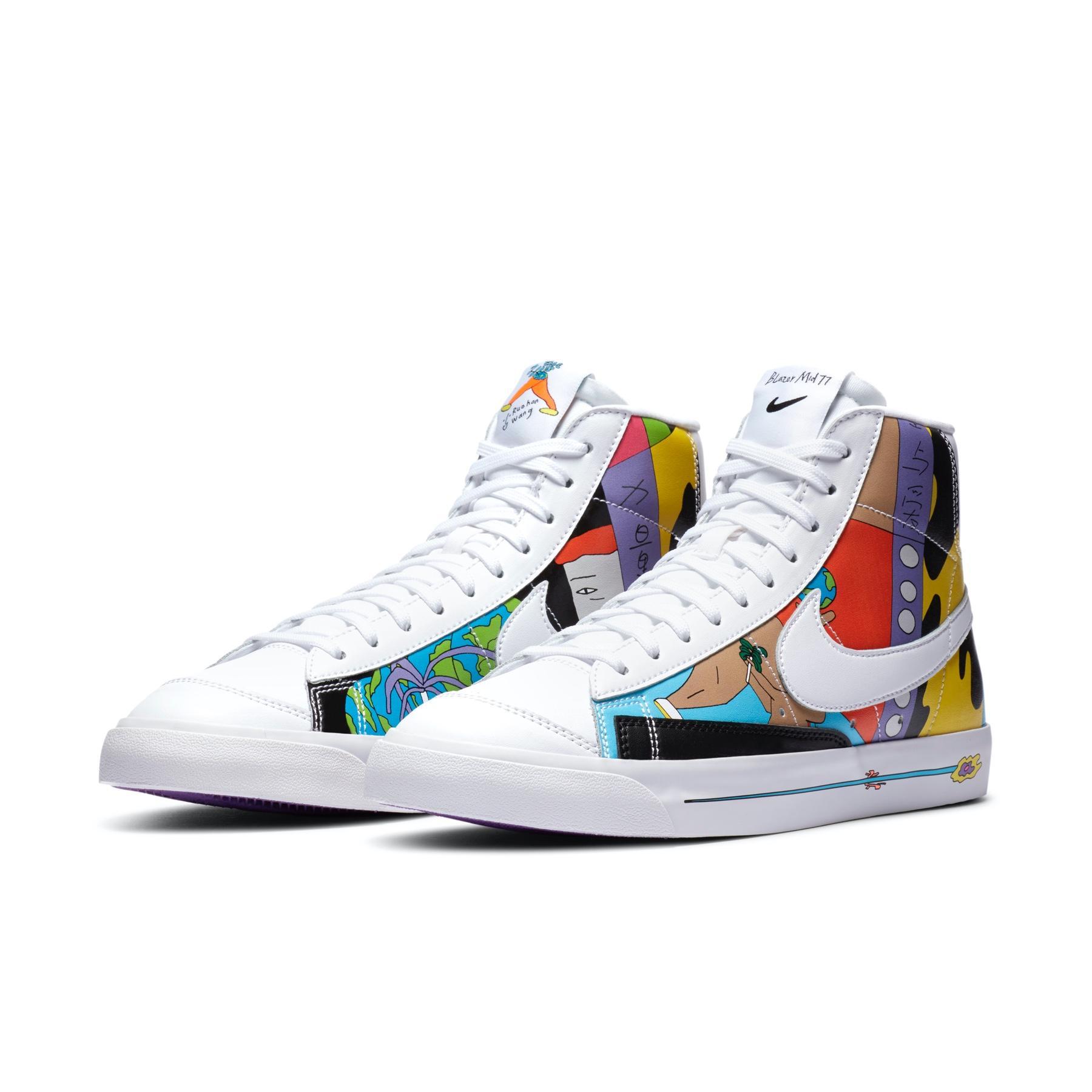 Ruohan Wang x Nike Blazer Mid